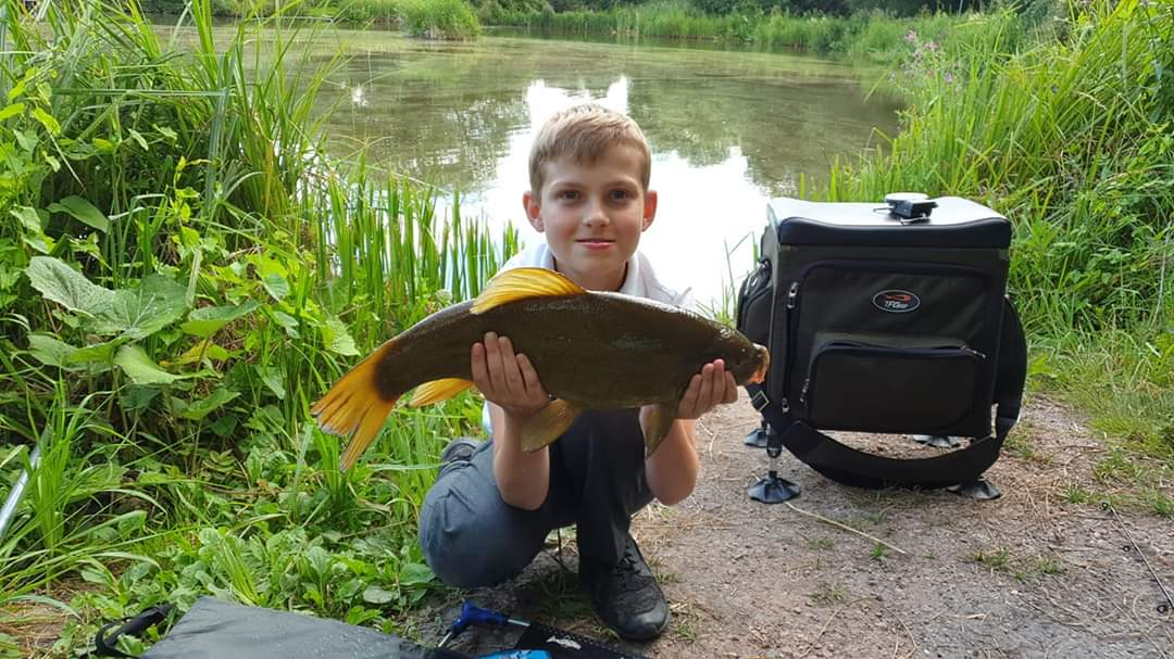 Lovely Tench - well done