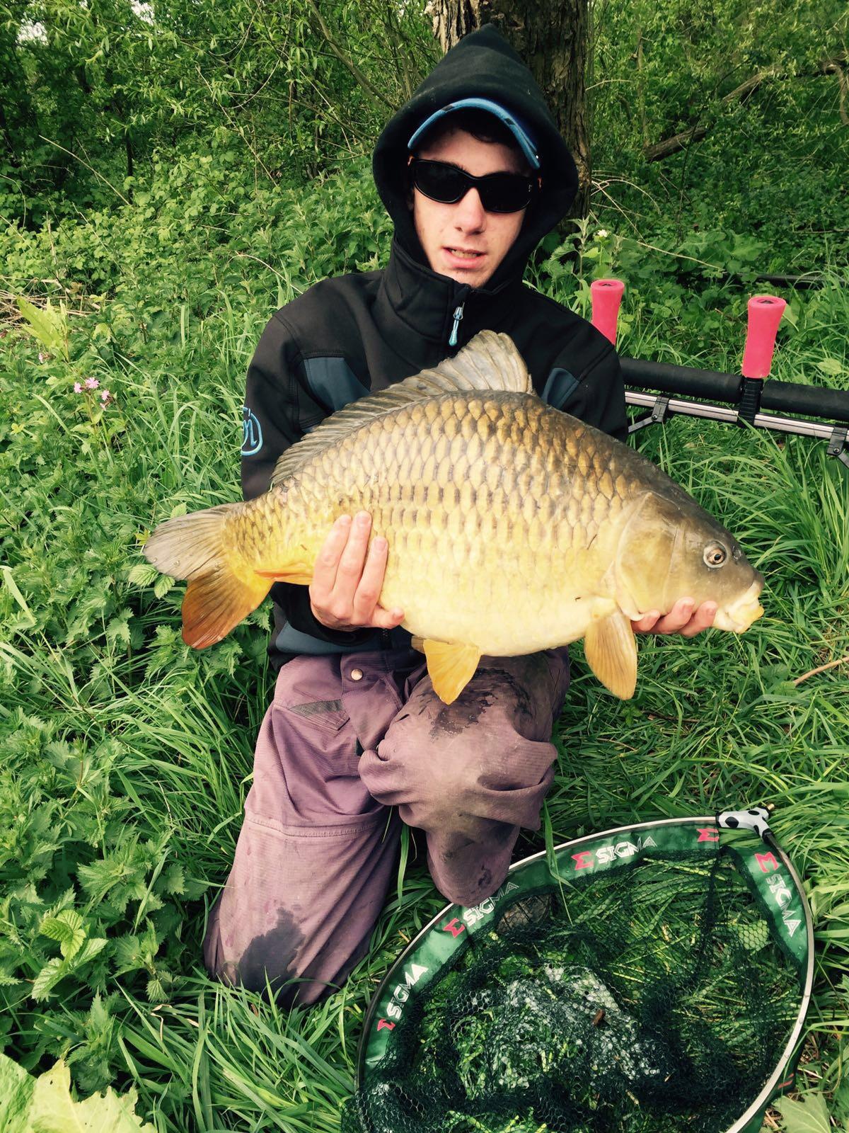 Matt, 18lb Common Carp